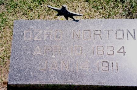NORTON, OZRO - Ida County, Iowa | OZRO NORTON