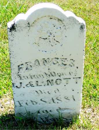 NOTT, FRANCES - Ida County, Iowa | FRANCES NOTT