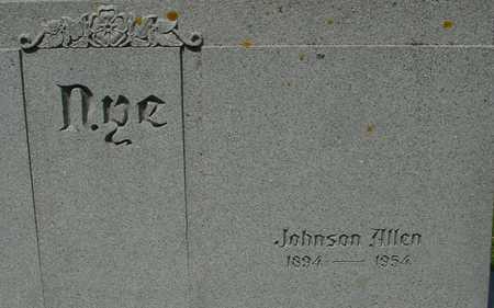NYE, JOHNSON ALLEN - Ida County, Iowa | JOHNSON ALLEN NYE