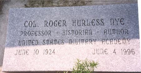 NYE, ROGER - Ida County, Iowa | ROGER NYE