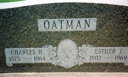 OATMAN, ESTHER L. - Ida County, Iowa   ESTHER L. OATMAN