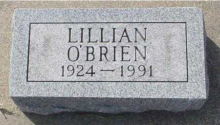 O'BRIEN, LILLIAN M. - Ida County, Iowa | LILLIAN M. O'BRIEN