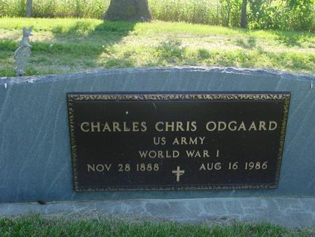 ODGAARD, CHARLES CHRIS - Ida County, Iowa | CHARLES CHRIS ODGAARD