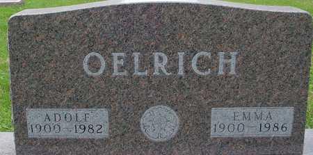 OELRICH, ADOLF & EMMA - Ida County, Iowa   ADOLF & EMMA OELRICH