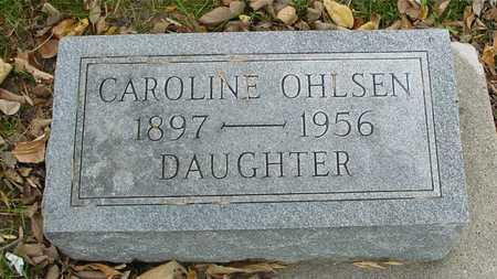 OHLSEN, CAROLINE - Ida County, Iowa | CAROLINE OHLSEN
