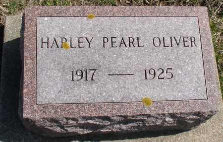 OLIVER, HARLEY PEARL - Ida County, Iowa   HARLEY PEARL OLIVER