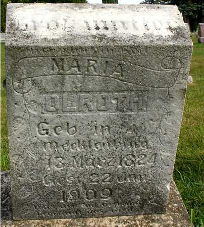 OLROTH, MARIA - Ida County, Iowa | MARIA OLROTH