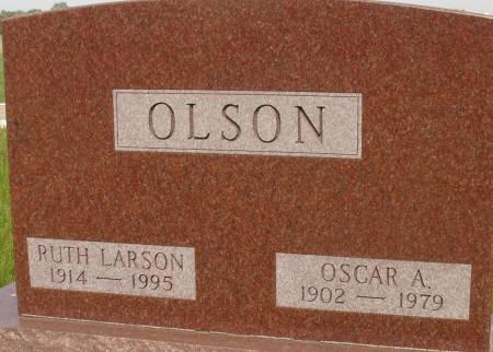 LARSON OLSON, RUTH - Ida County, Iowa | RUTH LARSON OLSON