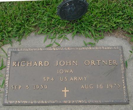 ORTNER, RICHARD JOHN - Ida County, Iowa   RICHARD JOHN ORTNER