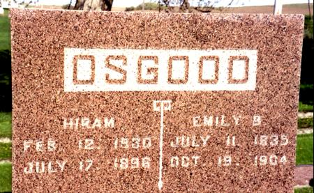 OSGOOD, HIRAM - Ida County, Iowa   HIRAM OSGOOD