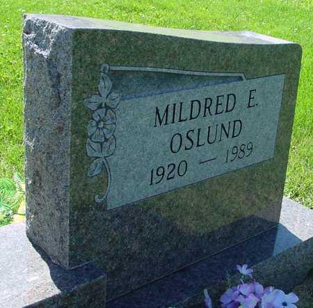 OSLUND, MILDRED E. - Ida County, Iowa | MILDRED E. OSLUND