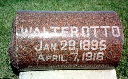 OTTO, WALTER - Ida County, Iowa | WALTER OTTO
