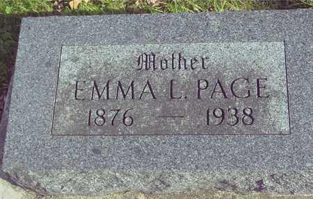 PAGE, EMMA L. - Ida County, Iowa | EMMA L. PAGE