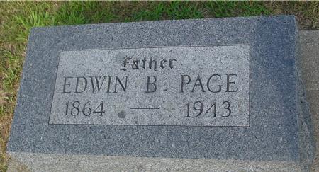 PAGE, EDWIN B. & EMMA - Ida County, Iowa   EDWIN B. & EMMA PAGE