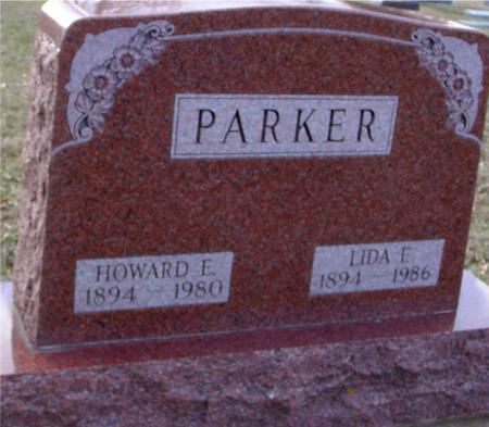 PARKER, HOWARD & LIDA F. - Ida County, Iowa | HOWARD & LIDA F. PARKER