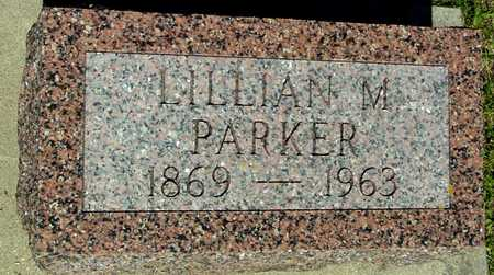PARKER, LILLIAN M. - Ida County, Iowa | LILLIAN M. PARKER