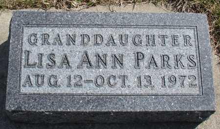 PARKS, LISA ANN - Ida County, Iowa | LISA ANN PARKS
