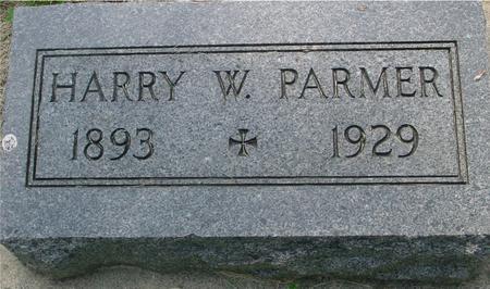 PARMER, HARRY - Ida County, Iowa | HARRY PARMER