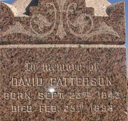 PATTERSON, DAVID - Ida County, Iowa | DAVID PATTERSON
