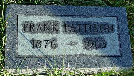 PATTISON, FRANK - Ida County, Iowa | FRANK PATTISON