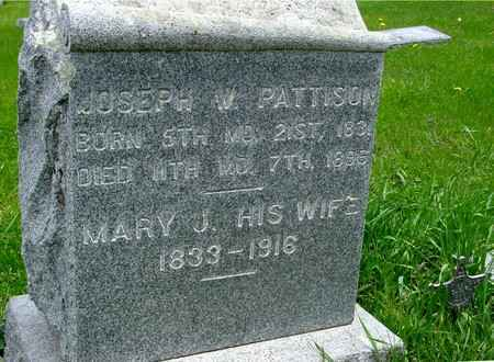 PATTISON, JOSEPH W. & MARY - Ida County, Iowa | JOSEPH W. & MARY PATTISON
