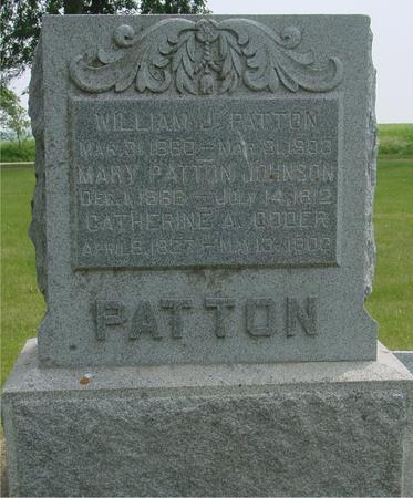 PATTON, WILLIAM J. - Ida County, Iowa | WILLIAM J. PATTON
