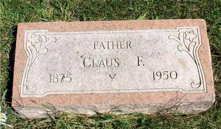 PAULSEN, CLAUS F. - Ida County, Iowa   CLAUS F. PAULSEN