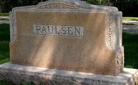 PAULSEN, FAMILY MARKER - Ida County, Iowa | FAMILY MARKER PAULSEN
