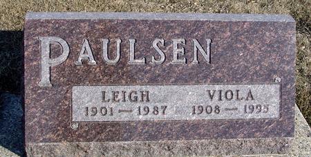 PAULSEN, LEIGH & VIOLA - Ida County, Iowa | LEIGH & VIOLA PAULSEN