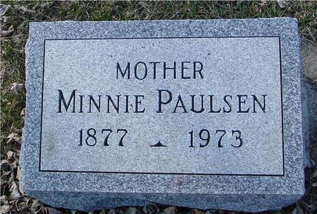 PAULSEN, MINNIE - Ida County, Iowa | MINNIE PAULSEN