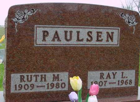 PAULSEN, RAY & RUTH - Ida County, Iowa   RAY & RUTH PAULSEN
