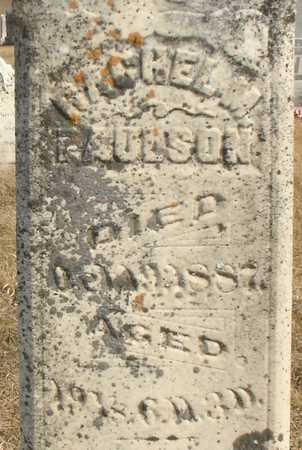 PAULSON, RACHEL M. - Ida County, Iowa   RACHEL M. PAULSON