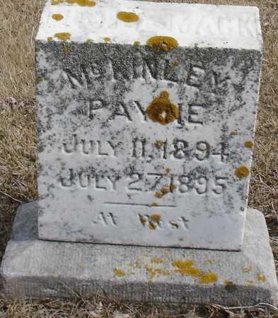 PAYNE, MCKINLEY - Ida County, Iowa | MCKINLEY PAYNE