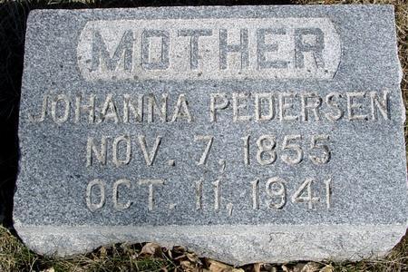 PEDERSEN, JOHANNA - Ida County, Iowa | JOHANNA PEDERSEN