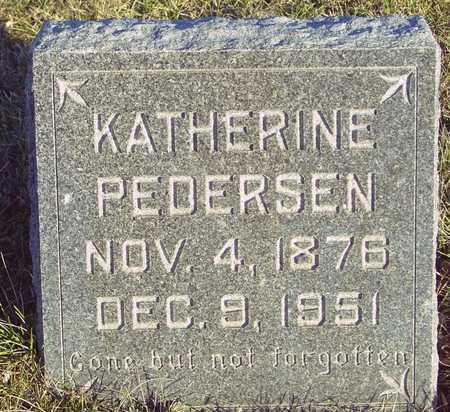 PEDERSEN, KATHERINE - Ida County, Iowa   KATHERINE PEDERSEN