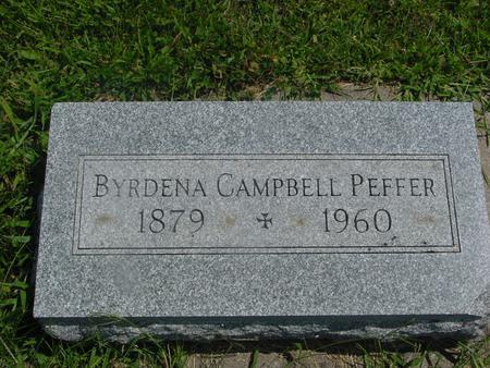 PEFFER, BYRDENA - Ida County, Iowa | BYRDENA PEFFER