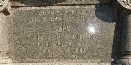 SPOTTS PEFFER, MARY JANE - Ida County, Iowa | MARY JANE SPOTTS PEFFER