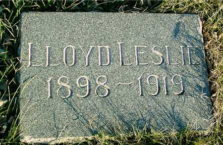 PEFFER, LLOYD LESLIE - Ida County, Iowa   LLOYD LESLIE PEFFER