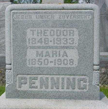 PENNING, MARIA - Ida County, Iowa | MARIA PENNING