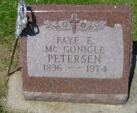 PETERSEN, FAYE E. - Ida County, Iowa | FAYE E. PETERSEN