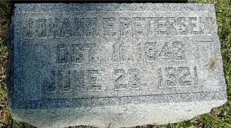 PETERSEN, JOHANN F. - Ida County, Iowa | JOHANN F. PETERSEN