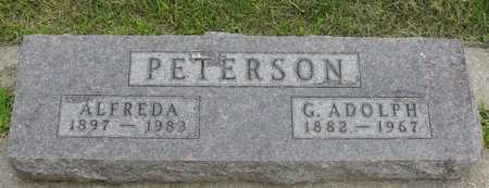 PETERSON, ADOLPH & ALFREDA - Ida County, Iowa | ADOLPH & ALFREDA PETERSON