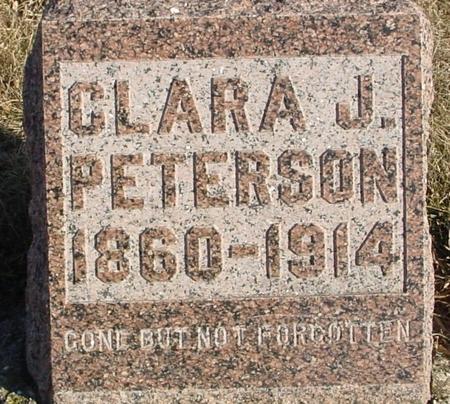 PETERSON, CLARA J. - Ida County, Iowa | CLARA J. PETERSON