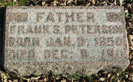 PETERSON, FRANK S. - Ida County, Iowa | FRANK S. PETERSON