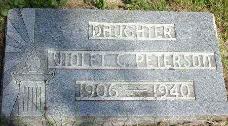 PETERSON, VIOLET C. - Ida County, Iowa   VIOLET C. PETERSON