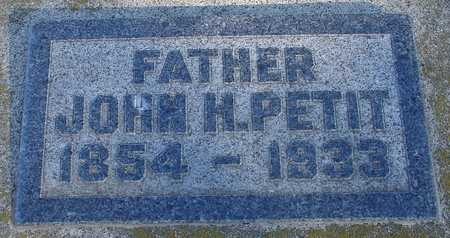 PETIT, JOHN H. - Ida County, Iowa | JOHN H. PETIT