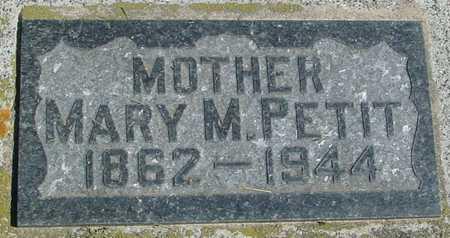 PETIT, MARY M. - Ida County, Iowa | MARY M. PETIT