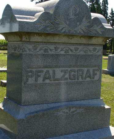 PFALZGRAF, FAMILY MARKER - Ida County, Iowa | FAMILY MARKER PFALZGRAF