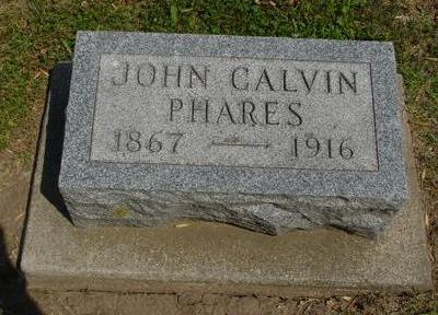 PHARES, JOHN CALVIN - Ida County, Iowa   JOHN CALVIN PHARES