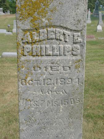PHILLIPS, ALBERT E. - Ida County, Iowa   ALBERT E. PHILLIPS